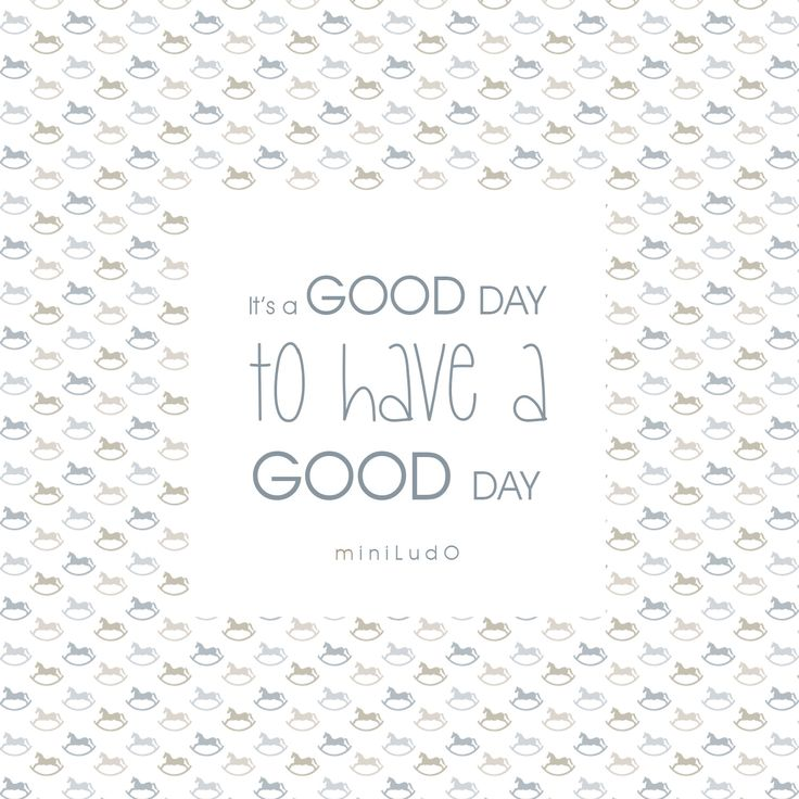 It's a GOOD DAY to have a GOOD DAY. #miniludo