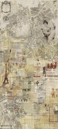 http://innetapety.pl/tapety-skandynawskie  Tapeta SIRPI ALTA GAMMA HOME POSTCARD FROM PARIS 20892