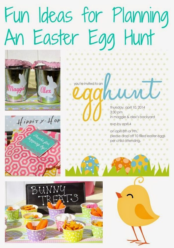 Hosting an Easter Egg Hunt.  Ideas & Activities to Have a fun Easter Egg Hunt.  || The Chirping Moms