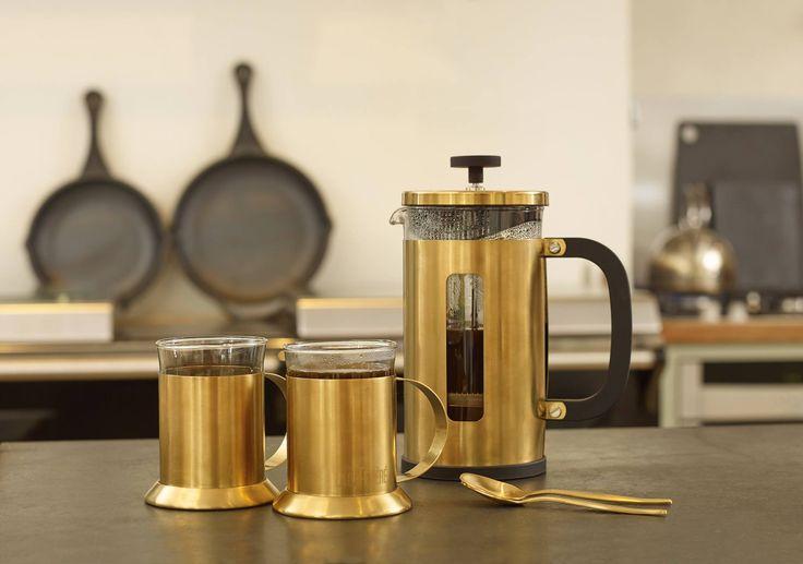Nowa kolekcja włoskiej marki La Cafétiere GOLD BRUSHED. Pasowałaby do Twojej kuchni?