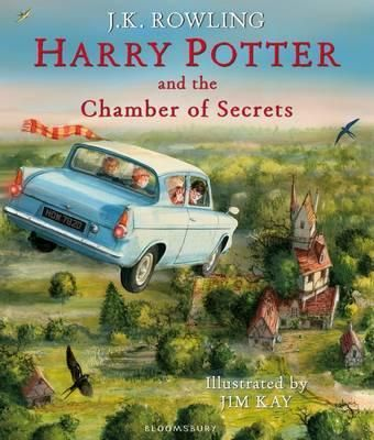 Harry Potter and the Chamber of Secrets by JK Rowling, stunningly illustrated by Jim Kay.