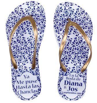 Sandalias para Boda, Chanclas para Boda, Sandalias Personalizadas, Sandalias para Fiesta