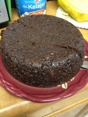 Rice Cooker Chocolate Cake