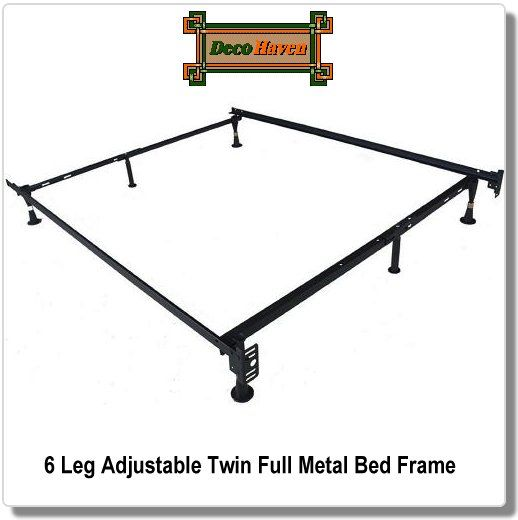 6 Leg Adjustable Twin Full Metal Bed Frame This Twin Full Bed