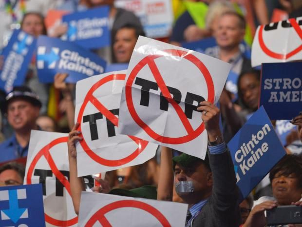 The Trans-Pacific Partnership is dead, says senior Democrat Charles Schumer. November 11 2016 #stopTPP