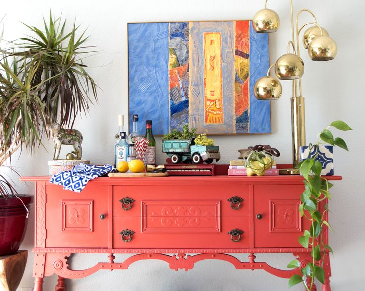 17 Best Images About Painted Credenza Ideas On Pinterest