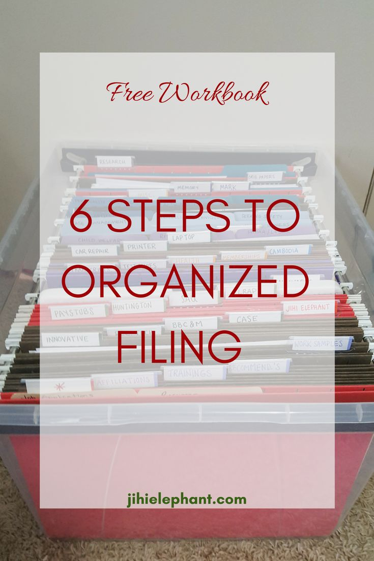 Keeping your documents organized an easy to find is super important! I mean, some of these are legal documents. That's not something you want to lose or misplace! If you don't have a filing system, let's get you one! Keep reading for the perfect filing system!