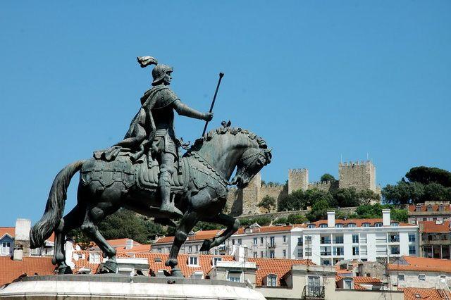 Estátua Equestre do Rei D. João I (Lisboa) - Distrito de Lisboa   Guia da Cidade   Região de Lisboa