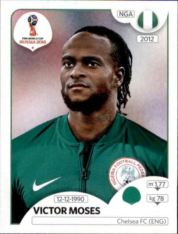 9866791fb3 Victor Moses - Nigeria Figurinhas Da Copa