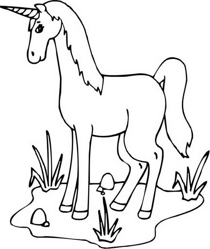 Unicorn Sleeping In The Cloud Coloring Page - Free ...