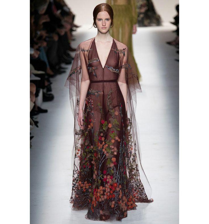Valentino fall winter 2014 runway show at Paris Fashion Week.