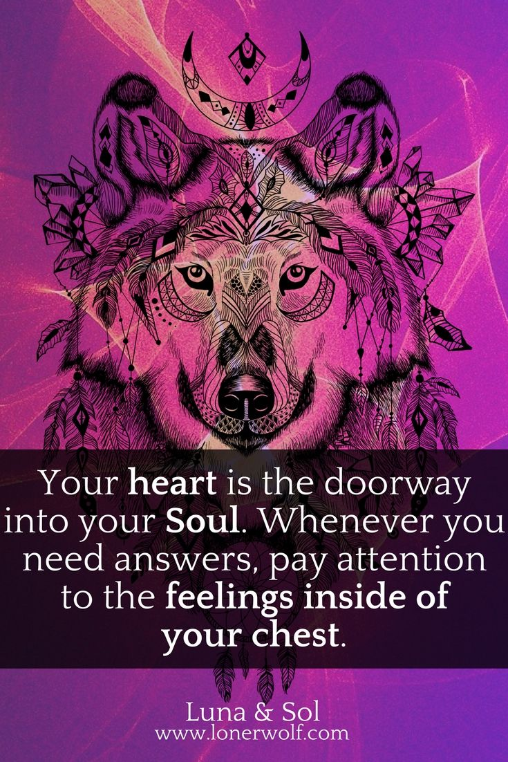 Your heart is the connection you have to your Soul and all the spiritual guidance you need.