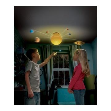 Met deze waanzinnige planetenlamp haal je het heelal gewoon je kamer in!
