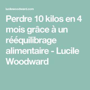 Perdre 10 kilos en 4 mois grâce à un rééquilibrage alimentaire - Lucile Woodward