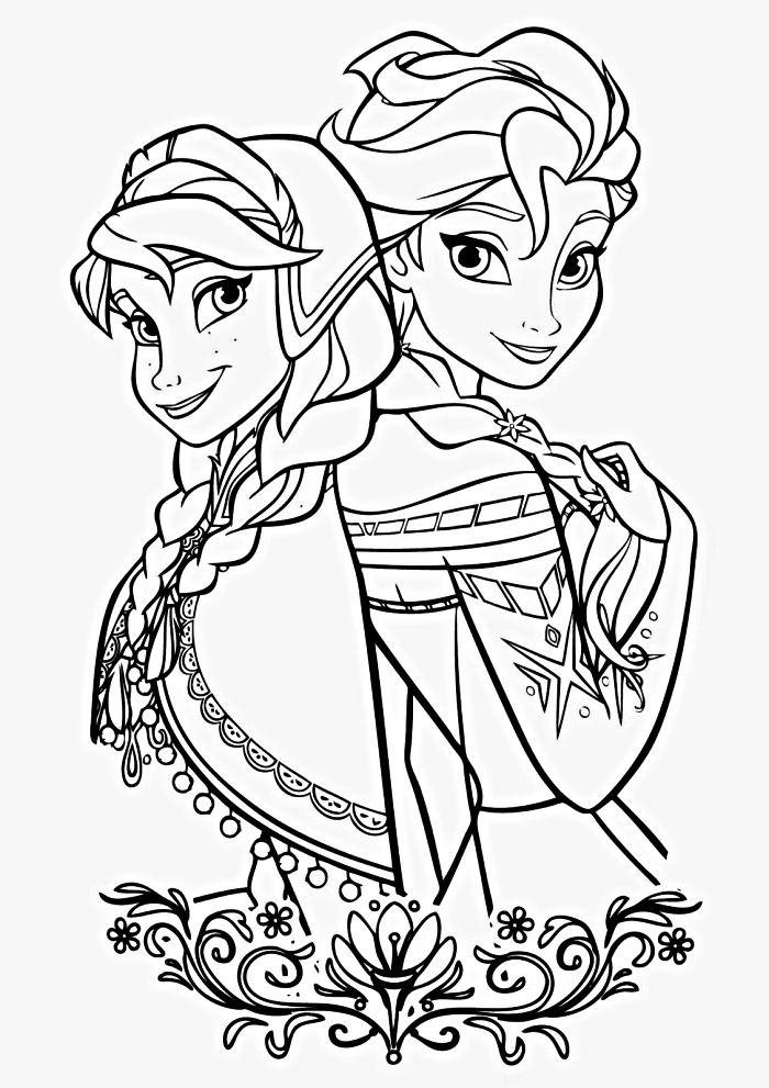 Coloriage Frozen Elsa.1001 Dessins Coloriage Pour Enfant A Imprimer