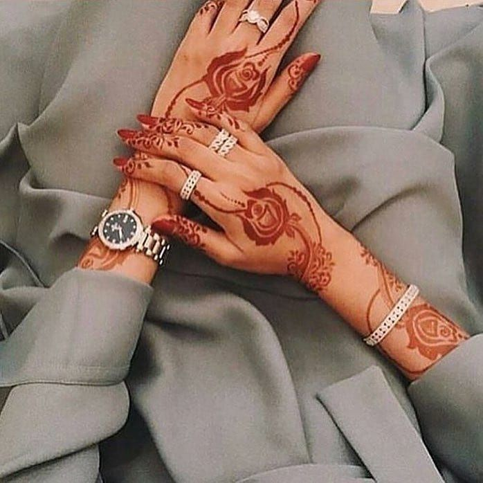 صور نقش الحناء Henna Inspired Tattoos Henna Designs Hand Henna Tattoo Kit