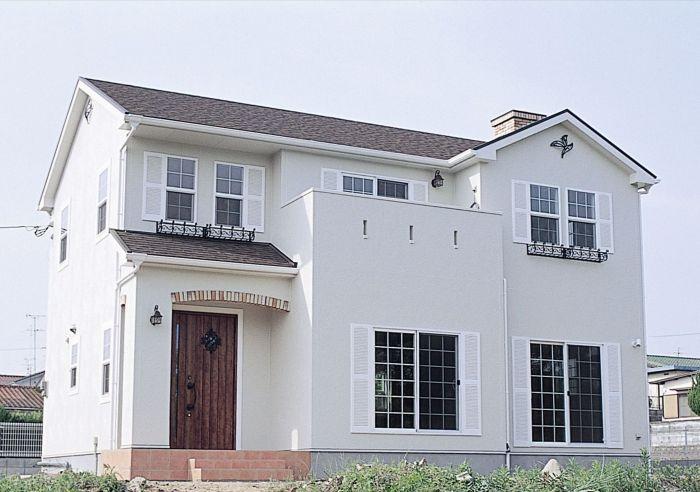 南欧スタイル 輸入住宅施工事例 ブルースホーム小倉 住宅 外観 輸入住宅 ホームウェア