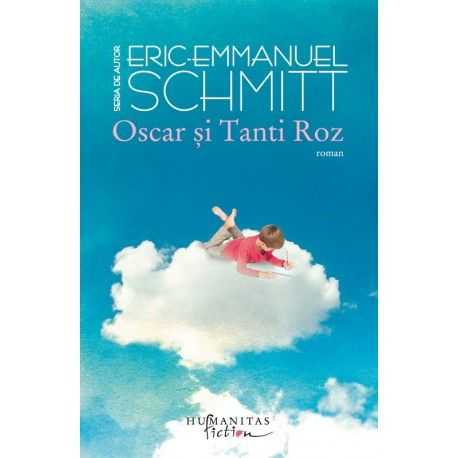 Oscar si Tanti Roz (ed. tiparita) Cel mai citit roman al lui Eric-Emmanuel Schmitt, adaptat de autor atat pentru scena, cat si pentru marele ecran.Oscar are zece ani si traieste intr-un spital. Chiar daca nimeni nu are curajul sa i-o spuna in fata, baiatul, bolnav de leucemie, stie ca va muri, iar razboiul lui impotriva tuturor izbucneste inocent, patimas si deznadajduit.