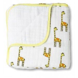 Aden + Anais Dream Blanket Baby Jungle Jam Giraffe