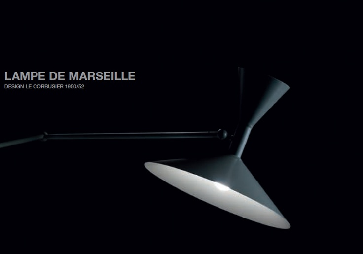 Lample de Marseille - a Corbusier classic