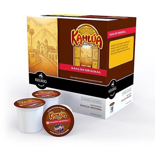 """Kahlua Coffee K-Cups"" ...need I say anymore?"