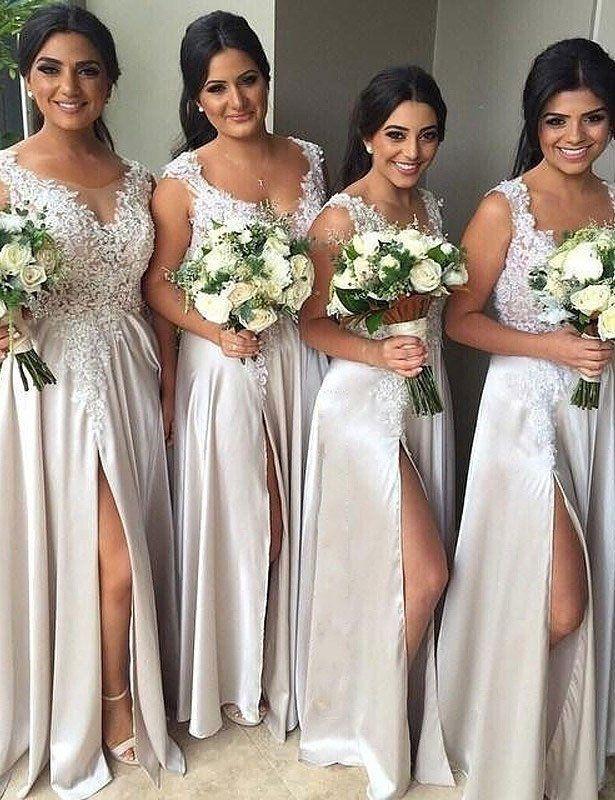 Fashion bridesmaid dress, strapless bridesmaid dress, bridesmaid dress, charming bridesmaid dress, PD60