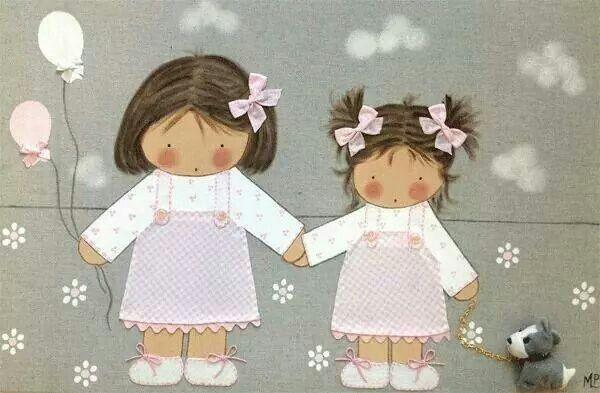 Hermanas por siempre...bello
