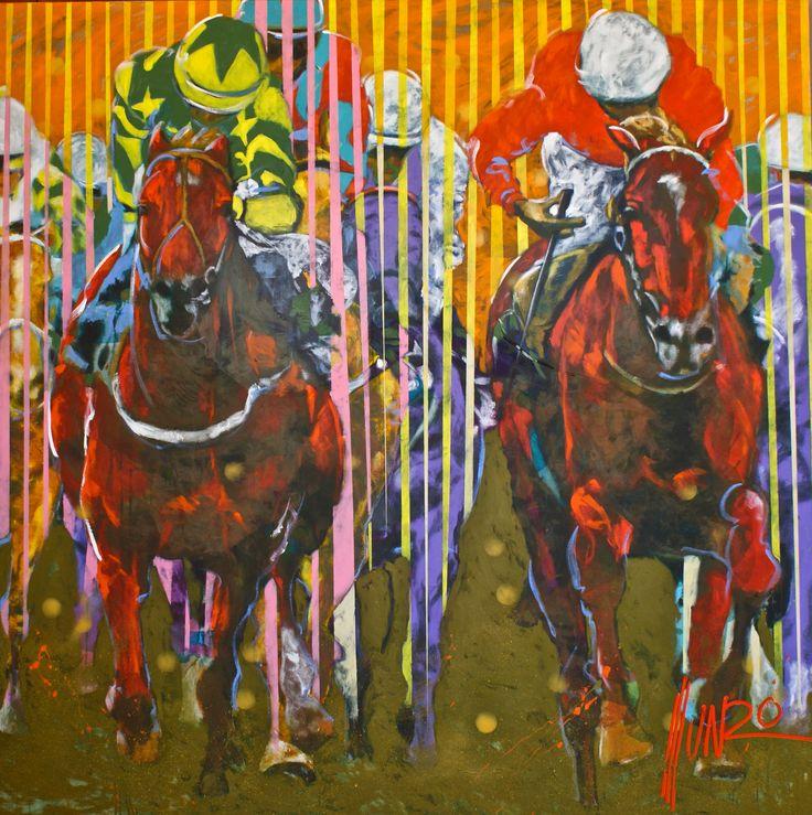 "M12287 ""endure unto the end"" by Munro. 200 x 200 x 5 cm #munro #yearestrong #vulintaba #endure #munroart #painting #SouthAfricanArt"