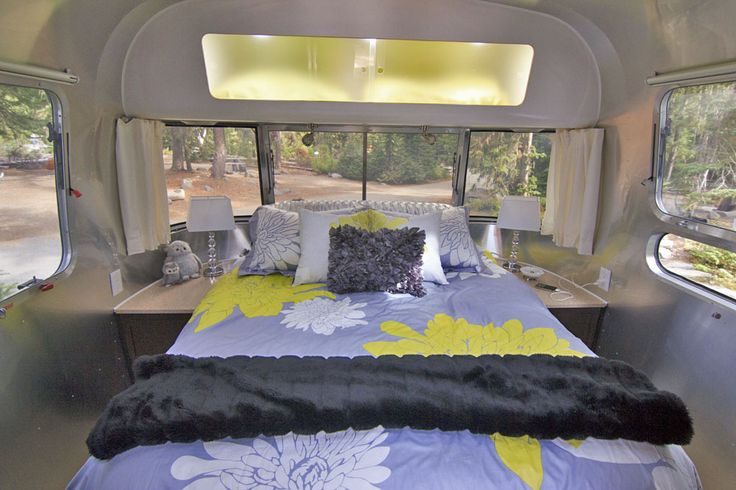 23 best images about airstream custom interiors on for Rv with 2 master bedrooms