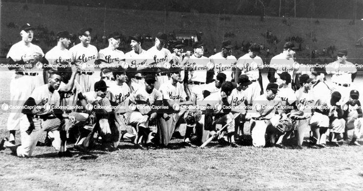 Equipo de Los Leones del Caracas de la Serie del Caribe 1964: Archivo Fotográfico/Cadena Capriles
