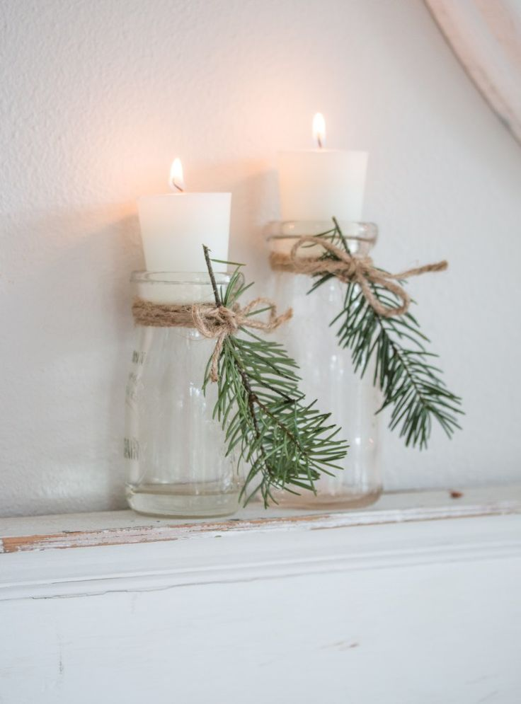 Cozy and Natural Christmas Living Room – Advent und Weihnachtsdeko