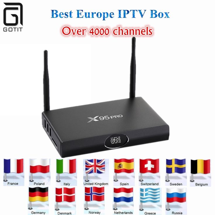 94.40$  Watch now - http://alivkn.shopchina.info/1/go.php?t=32816538875 - GOTIT X95PRO android tv box 1G 8G +Best Europe iptv Germany UK Italy France Sweden Arabic Russia India Israel Hot XXX iptv box  #buymethat