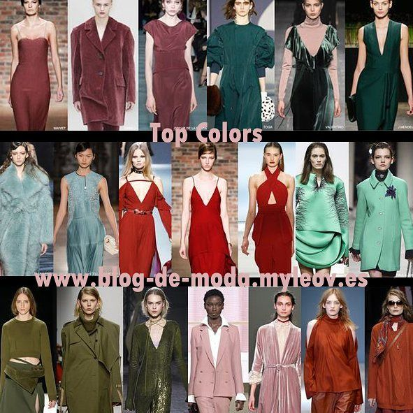 Nuevo post! Tendencias Moda :Top colors leer más en www.blog-de-moda.myleov.es #bloggers #BloggersBlast #tendencias #moda #colors #fallwinter #fashion #trends #blogmoda