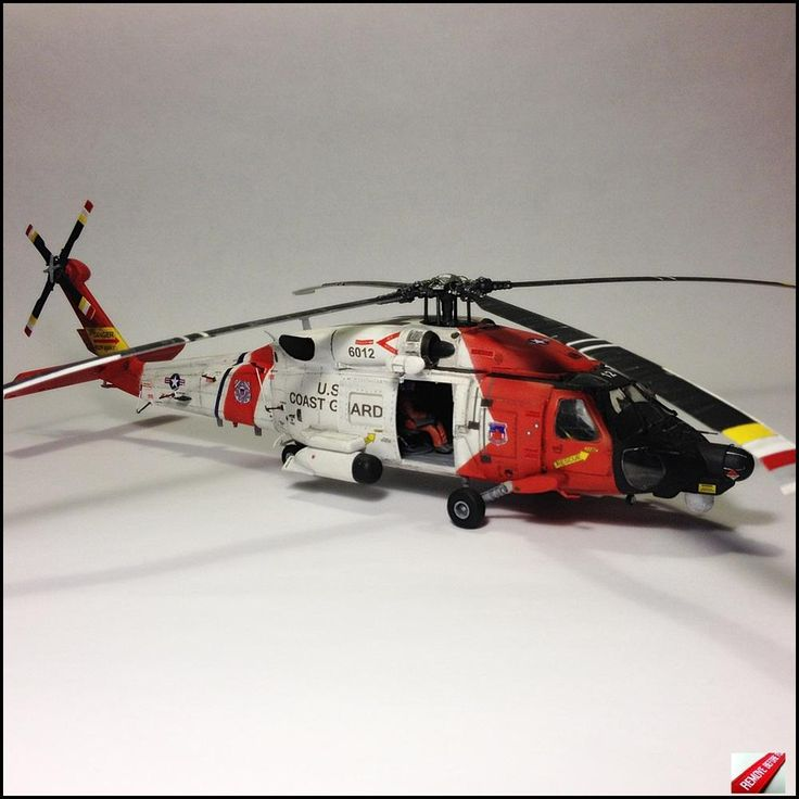 HH-60J Jayhawk - U.S. Cost Guard - 1:48 By Daz see on http://www.modelwork.pl/viewtopic.php?f=64&t=42240