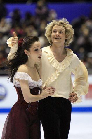 White Ice Dancers Davis Hookup And