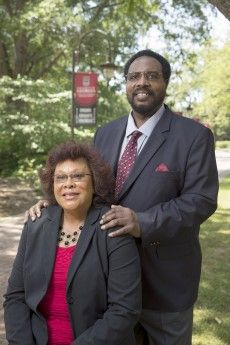 Alabama State couple pursued advanced degrees together.  She became the 1st black woman tenured professor at Lander University in SC, he was the 1st black tenured professor at Winthrop