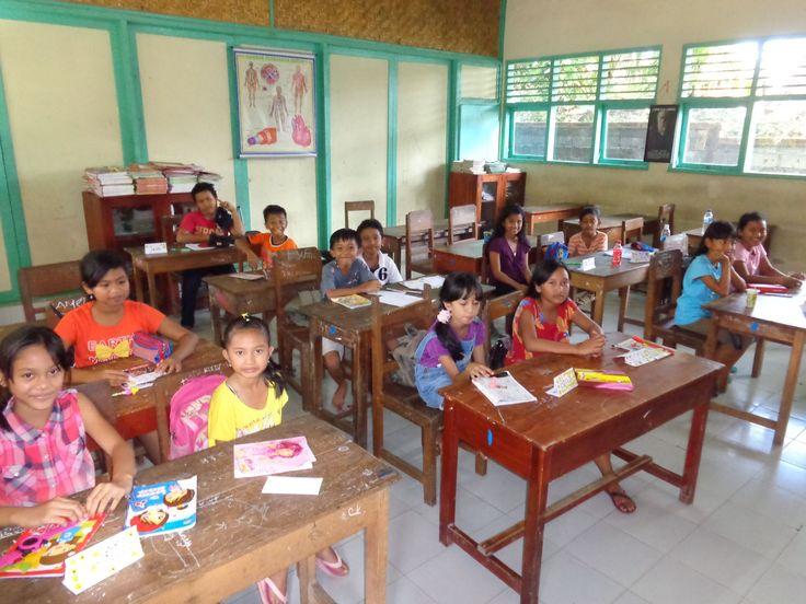 Schoolklas  - Vrijwilligerswerk Bali