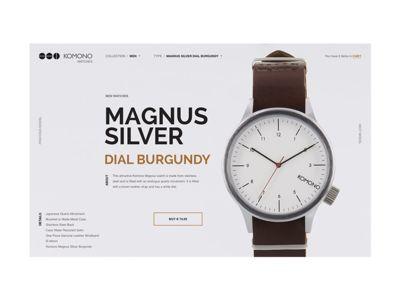 KOMONO Watches Shop Concept