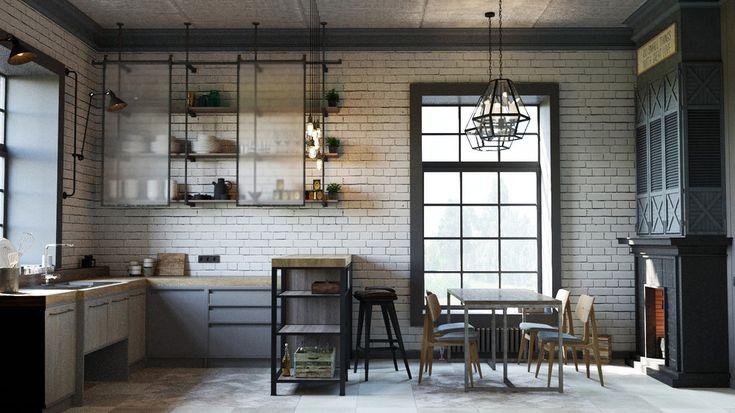 Бабушкин contemporary - ALNO. Современные кухни: дизайн и эргономика | PINWIN - конкурсы для архитекторов, дизайнеров, декораторов