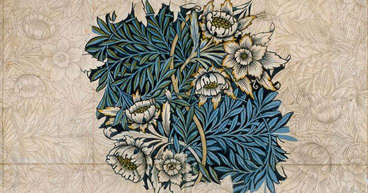 Уильям Моррис (1834-1896) — уникальная личность в истории дизайна и искусства, был одним из ведущих членов движения Исскуств и Ремесел (Arts & Crafts Movement). Моррис создатель огромного количества декоративных узоров для тканей и обоев, теоретик в области эстетики и социального устройства общества, успешный бизнесмен, вернувший интерес широких слоев общества к ручному художественному труду…
