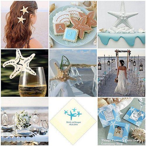 starfish beach wedding theme  #beachweddingtheme #beachwedding