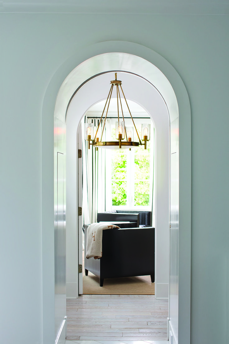 Mission to mars ceiling light kids ceiling lighting toronto by - Hinkley 3385hb Collier 5 Light Foyer Chandelier 500watts Heritage Brass 30 75 H X 27 W