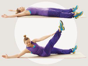Effektive Bauch-Übungen für Zuhause