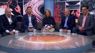 Image copyright                  EPA                  Image caption                                      Ex-players Jason Dunford, Steve Walters, Chris Unsworth and Andy Woodward have spoken to the BBC about alleged abuse                                Crewe Alexandra will hold an independent review into the way they dealt with historical child sex abuse allegat