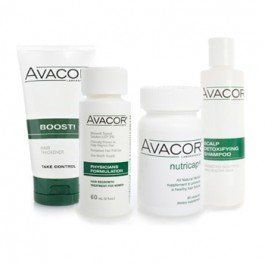 Avacor® for Women by AVACOR. $159.99. Apply twice-daily on the scalp to retard further hair loss and to start re-growing hair. Containing the proven hair growth medication minoxidil, the Avacor Physicians Formulation® results in new hair growth in as little as 2 months.