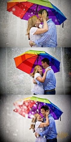 Kto nie czeka na deszczowe spacery pod jednym parasolem... #parasol #całowanie #pocałunki #pocałunek #deszcz #umbrella #kiss #kissing #walkingin the rain #sheheumbrella #onionapodparasolem