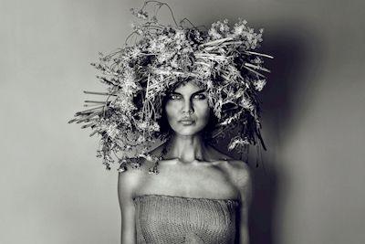 LisaLove Bäckman - Dense focus, portrait, black & white photo art, prints & posters