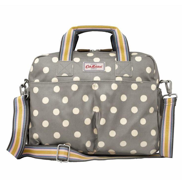 Not just a bag, but also a nappy changing kit designed to lighten the load of leaving the house. The wipe-clean tote comes complete with changing mat, bottle insulator and handy zip pocket for wipes and creams.