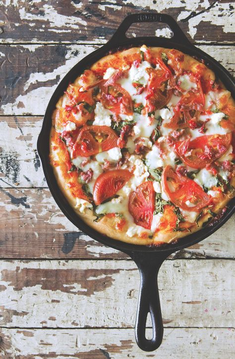 Homemade Deep Dish Dough... need I say more? via Nothing but Delicious #stretchypants #comfort
