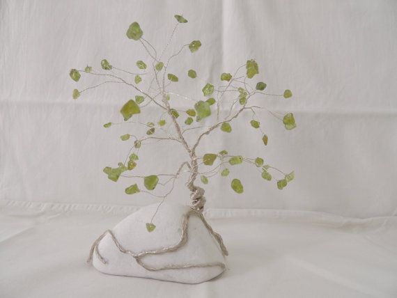 Hey, I found this really awesome Etsy listing at https://www.etsy.com/listing/239392640/peridot-gemstone-wire-tree